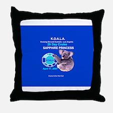 Sapphire KOALA 2007- Throw Pillow