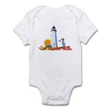 Ocracoke NC Infant Bodysuit