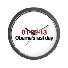 01-20-13 Obama's last day Wall Clock