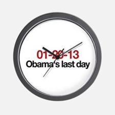 01-20-13 Obama's last day Wall Clock