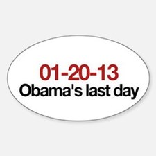 01-20-13 Obama's last day Oval Decal