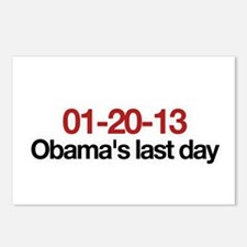 01-20-13 Obama's last day Postcards (Package of 8)