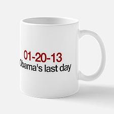 01-20-13 Obama's last day Mug