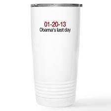 01-20-13 Obama's last day Travel Mug