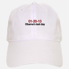 01-20-13 Obama's last day Baseball Baseball Cap