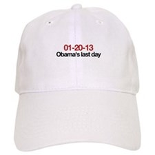 01-20-13 Obama's last day Baseball Cap