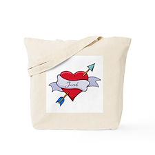 Heart Jacob Tote Bag