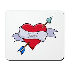Heart Jacob Mousepad
