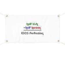 Irish & Korean Banner