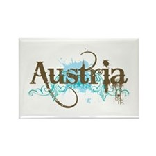 Cool Austria Rectangle Magnet