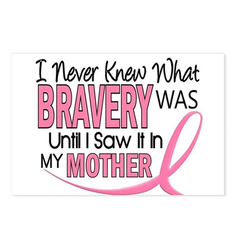 Bravery (Mother) Breast Cancer Awareness Postcards