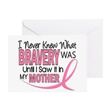 Bravery (Mother) Breast Cancer Awareness Greeting