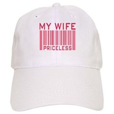 My Wife Priceless Barcode Baseball Cap