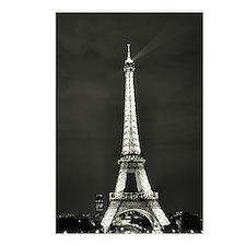 Unique Paris eiffel tower Postcards (Package of 8)