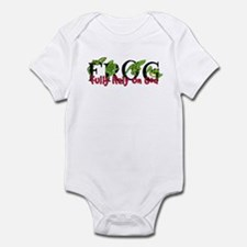 FROG: Fully Rely on God Infant Bodysuit