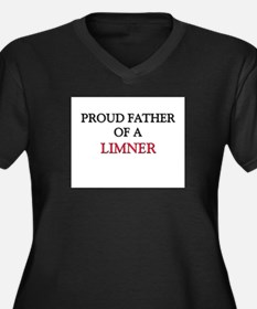 Proud Father Of A LIMNER Women's Plus Size V-Neck