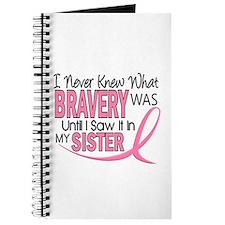 Bravery (Sister) Breast Cancer Awareness Journal