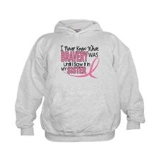 Bravery (Sister) Breast Cancer Awareness Hoodie