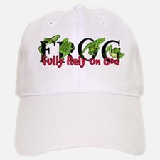 FROG: Fully Rely on God Baseball Baseball Cap