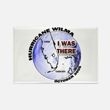FL Satellite Hurricane Wilma Rectangle Magnet