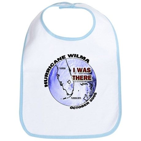 FL Satellite Hurricane Wilma Bib