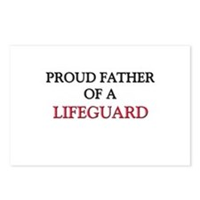 Proud Father Of A LIFEGUARD Postcards (Package of