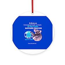 Sapphire KOALA 2007- Ornament (Round)