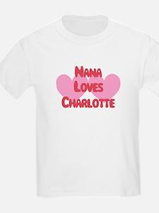 Nana Loves Charlotte T-Shirt