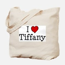 I love Tiffany Tote Bag