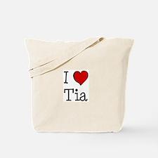 I love Tia Tote Bag