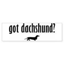 Got Dach? (1) Bumper Bumper Stickers