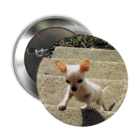 """Determined Puppy 2.25"""" Button (10 pack)"""