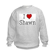 I love Shawn Sweatshirt