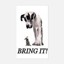 Bring It! Rectangle Bumper Stickers