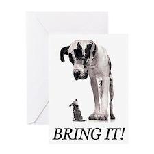 Bring It! Greeting Card