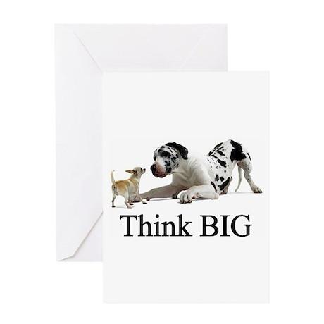 Think Big Greeting Card