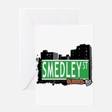 SMEDLEY STREET, QUEENS, NYC Greeting Card