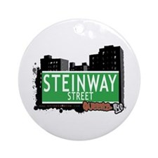 STEINWAY STREET, QUEENS, NYC Ornament (Round)