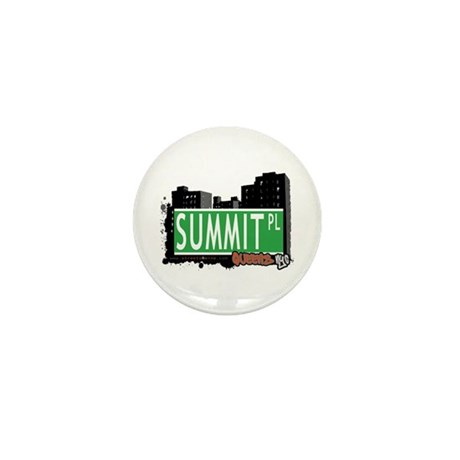 SUMMIT PLACE, QUEENS, NYC Mini Button (100 pack)