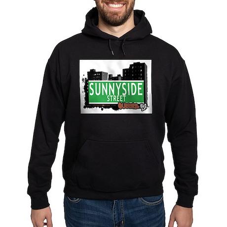 SUNNYSIDE STREET, QUEENS, NYC Hoodie (dark)