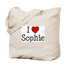 I love Sophie Tote Bag
