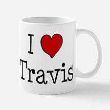 I love Travis Mug