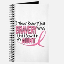Bravery (Aunt) Breast Cancer Support Journal