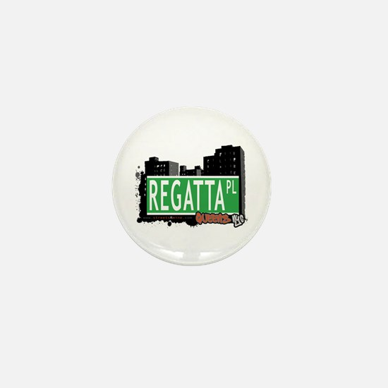 REGATTA PLACE, QUEENS, NYC Mini Button