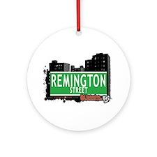 REMINGTON STREET, QEENS, NYC Ornament (Round)