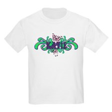Katie's Butterfly Name Kids T-Shirt