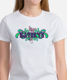 Kathryn's Butterfly Name Tee