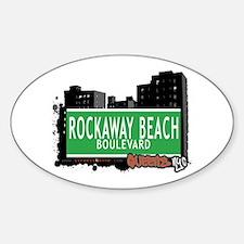 ROCKAWAY BEACH BOULEVARD, QUEENS, NYC Decal