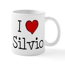 I love Silvio Mug
