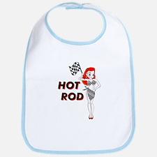Hot Rod Redhead Bib